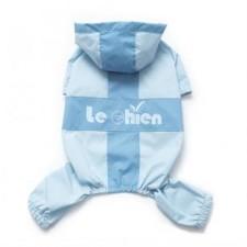 Obleček Modrá pláštěnka pro psa Le chien