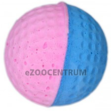 Pěnový barevný míček4 cm– růžovo-modrý