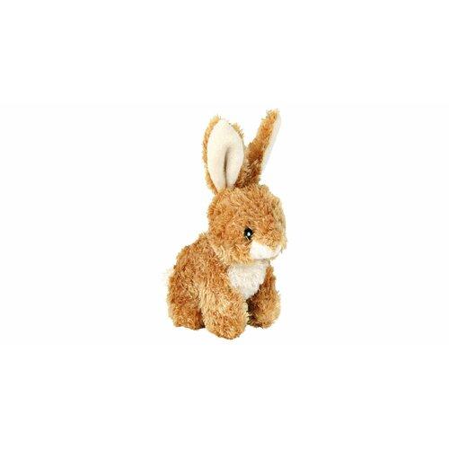 Plyšový králíček sedící 15 cm– světle hnědý